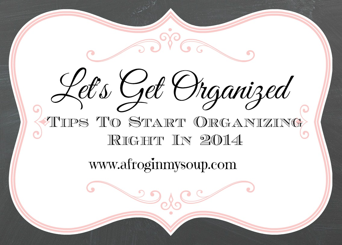 Getting the Family Organized