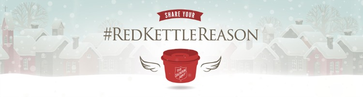 Salvation Army's #RedKettleReason