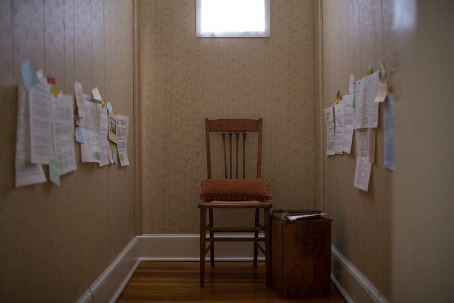 Miss Clara's Prayer Closet or War Room